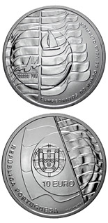 10 euro Sailing Championships in Cascais  - 2007 - Series: Silver 10 euro coins - Portugal