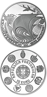 10 euro 20th Anniversary of the Ibero-American Series - 2012 - Series: Silver 10 euro coins - Portugal