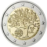 2 euro coin Portuguese Presidency of the Council of the European Union | Portugal 2007