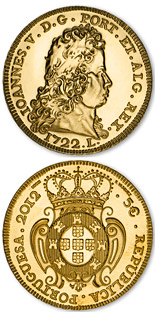 5 euro A Peça King John V - 2012 - Series: Portugal Numismatic Treasure - Portugal