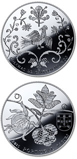 2.5 euro coin The Bedspreads of Castelo Branco | Portugal 2015