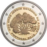 2 euro coin 250th Anniversary of the Ajuda Botanical Garden | Portugal 2018