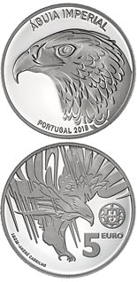 5 euro coin The Imperial Eagle | Portugal 2018
