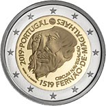 2 euro coin 500th Anniversary of the circumnavigation of the Earth by Ferdinand Magellan | Portugal 2019