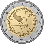 2 euro coin 600 years since the discovery of Madeira | Portugal 2019