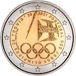 2 euro coin The Summer Olympic Games 2021 | Portugal 2021