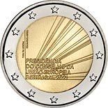 2 euro coin Presidency of the Council of the European Union | Portugal 2021