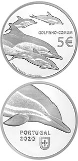 5 euro coin The Dolphin | Portugal 2020