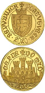 1.5 euro coin Half escudo from Ceuta | Portugal 2020