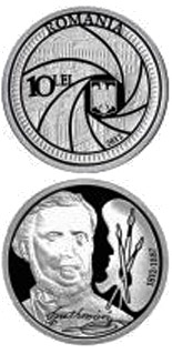 10 leu coin 200th Anniversary of the Birth of Carol Popp de Szathmári | Romania 2012