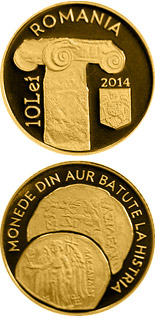 10 leu coin The History of Gold – Gold Coins Minted at Histria | Romania 2014