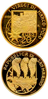 20 euro coin 750th Anniversary of the Birth of Marco Polo | San Marino 2004
