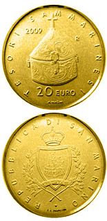 20 euro coin Treasures of San Marino  | San Marino 2009