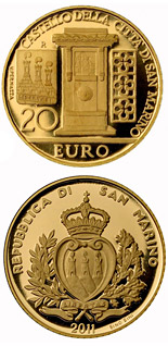 20 euro Architectural Elements - 2011 - Series: Gold euro coins - San Marino
