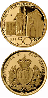 50 euro Architectural Elements - 2011 - Series: Gold euro coins - San Marino