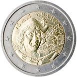 2 euro coin 500th Anniversary of the Death of Christopher Columbus | San Marino 2006