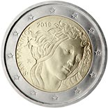 2 euro coin 500th Anniversary of the death of Sandro Botticelli | San Marino 2010