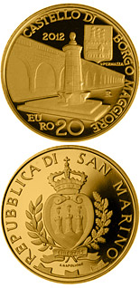 20 euro coin Architectural Elements | San Marino 2012