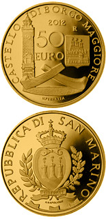 50 euro Architectural Elements - 2012 - Series: Gold euro coins - San Marino