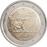 2 euro coin 500th Anniversary of the Death of Donatello | San Marino 2016