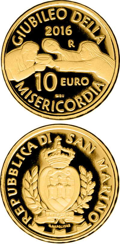 10 euro 50th anniversary of the closing of the Second Vatican Council - 2016 - San Marino