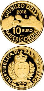10 euro coin 50th anniversary of the closing of the Second Vatican Council | San Marino 2016