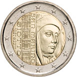 2 euro coin 750th anniversary of the birth of Giotto | San Marino 2017