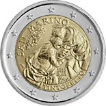 2 euro coin 500th Anniversary of the Birth of Tintoretto | San Marino 2018