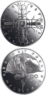 500 crowns The Mala Fatra National Park - 2001 - Series: Silver 500 crown coins - Slovakia