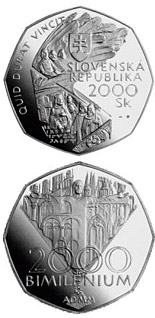 2000 crowns coin The Jubilee Year 2000 - Bimillennium | Slovakia 2000