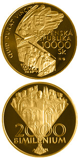 10000 crowns coin The Jubilee Year 2000 - Bimillennium | Slovakia 2000
