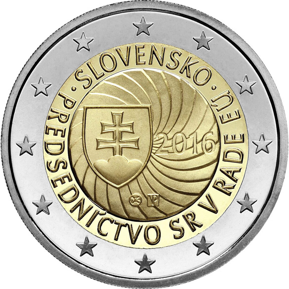 2 euro | Slovakia | First Presidency of the Slovak Republic of the Council of the European Union | 2016