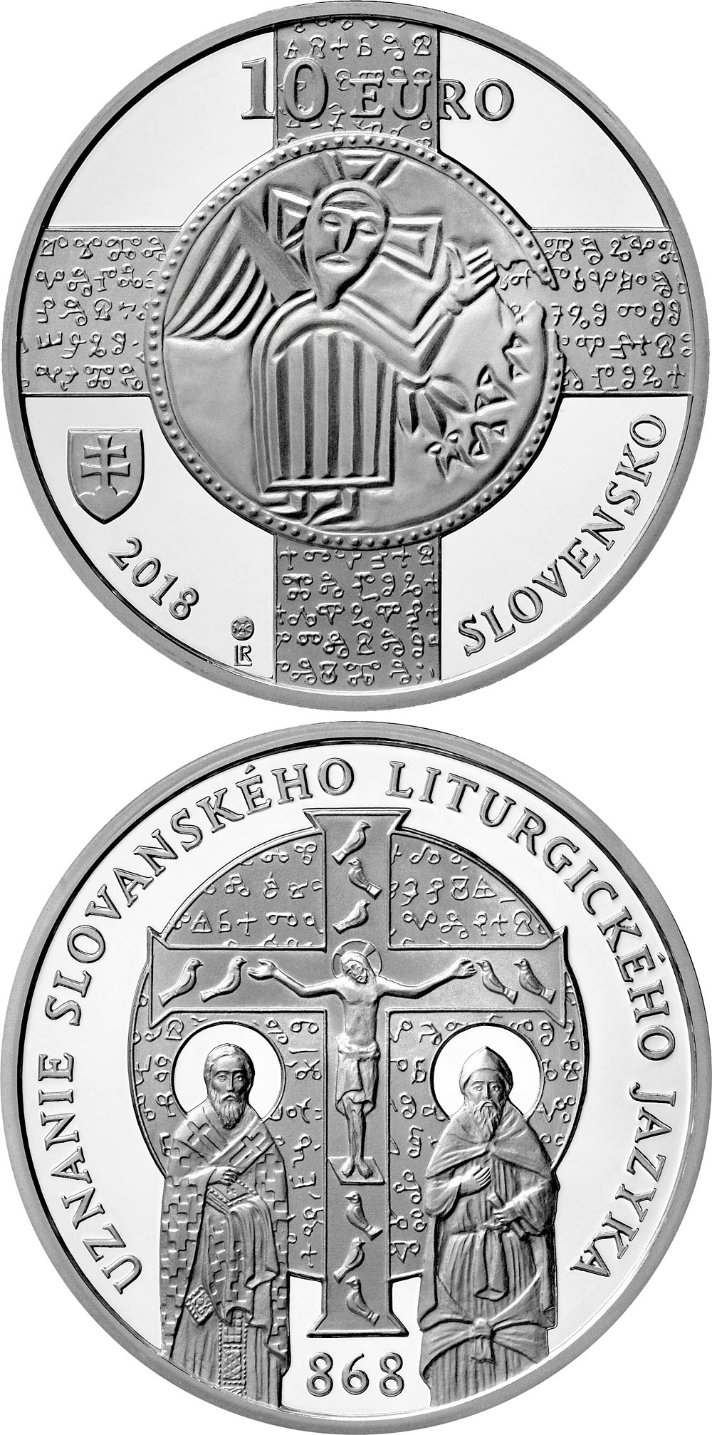 silver 10 euro coins the 10 euro coin series from slovakia. Black Bedroom Furniture Sets. Home Design Ideas