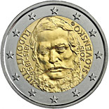 2 euro coin 200th Anniversary of the Birth of Ľudovít Štúr | Slovakia 2015