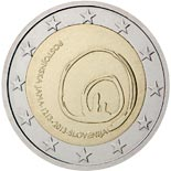 2 euro coin 800th Anniversary of the First Visit of the Postojna Cave | Slovenia 2013