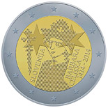 2 euro coin 600th Anniversary of the Coronation of Barbara of Cilli | Slovenia 2014