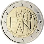 2 euro 2000th Anniversary of the Founding of Emona - 2015 - Series: Commemorative 2 euro coins - Slovenia