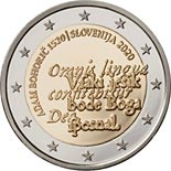 2 euro coin 500th Anniversary of the Birth of Adam Bohorič | Slovenia 2020