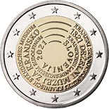 2 euro coin 200th Anniversary of the Establishment of the Carniola Provincial Museum | Slovenia 2021