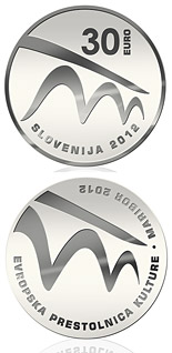 30 euro coin European Capital of Culture - Maribor 2012  | Slovenia 2012