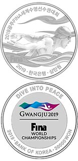 30000 won coin The 18th FINA World Championships Gwangju