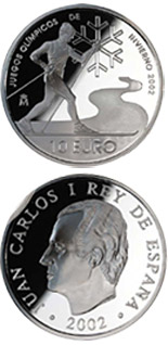 10 euro 2002 Winter Olympics - 2002 - Series: Silver 10 euro coins - Spain