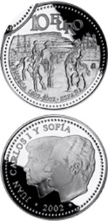 10 euro Bicentenary of the return of Menorca to Spain - 2002 - Series: Silver 10 euro coins - Spain