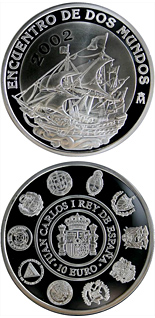 10 euro coin V Iberoamerican Series – Sailing | Spain 2002