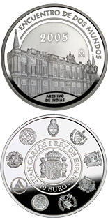 10 euro VI Iberian-American Series: Architecture and Monuments - 2005 - Series: Silver 10 euro coins - Spain
