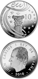 10 euro Spanish Presidency of the EU - 2010 - Series: Silver 10 euro coins - Spain