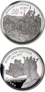 50 euro coin 5th Centenary of Isabella I of Castile | Spain 2004
