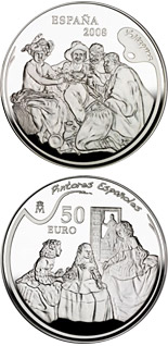 50 euro coin Spanish Painters Series - Velázquez | Spain 2008