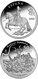 50 euro coin 3rd Series Spanish Painters – Goya | Spain 2010