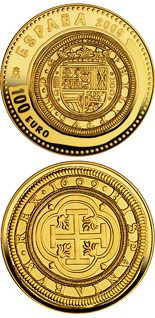100 euro 2nd Series Numismatic Treasures - 2009 - Series: Gold 100 euro coins - Spain
